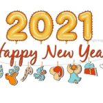 Happy New Year Clip Art 1