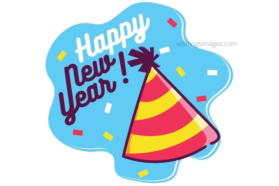 Happy New Year Clip Art 6